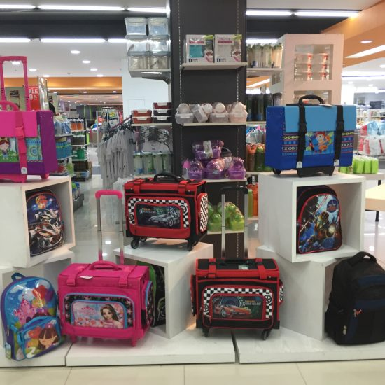Ororama school bag varies in sizes, colors and design fit for your kids choice.